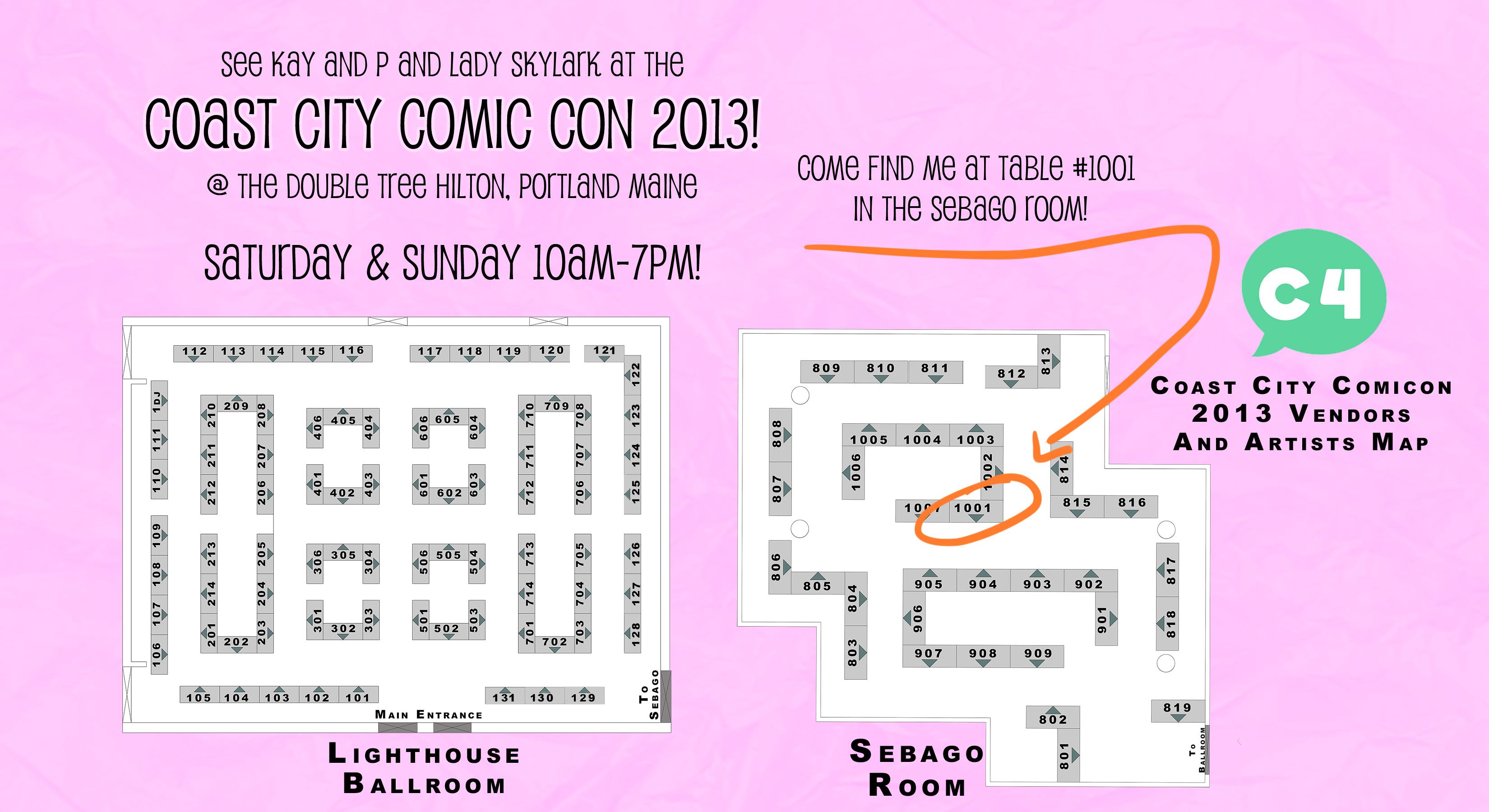 Coast City Comic Con 2013!
