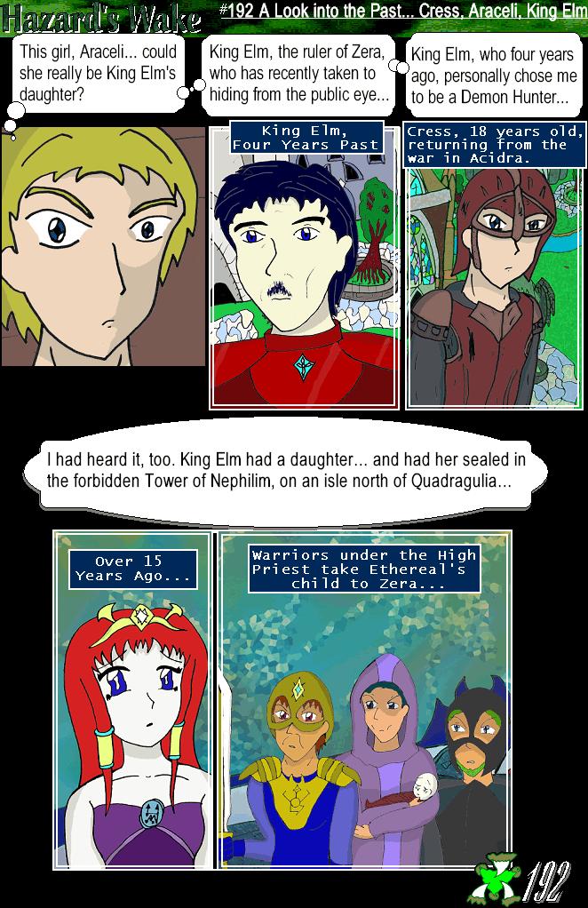 The Past- Cress, Araceli, King Elm