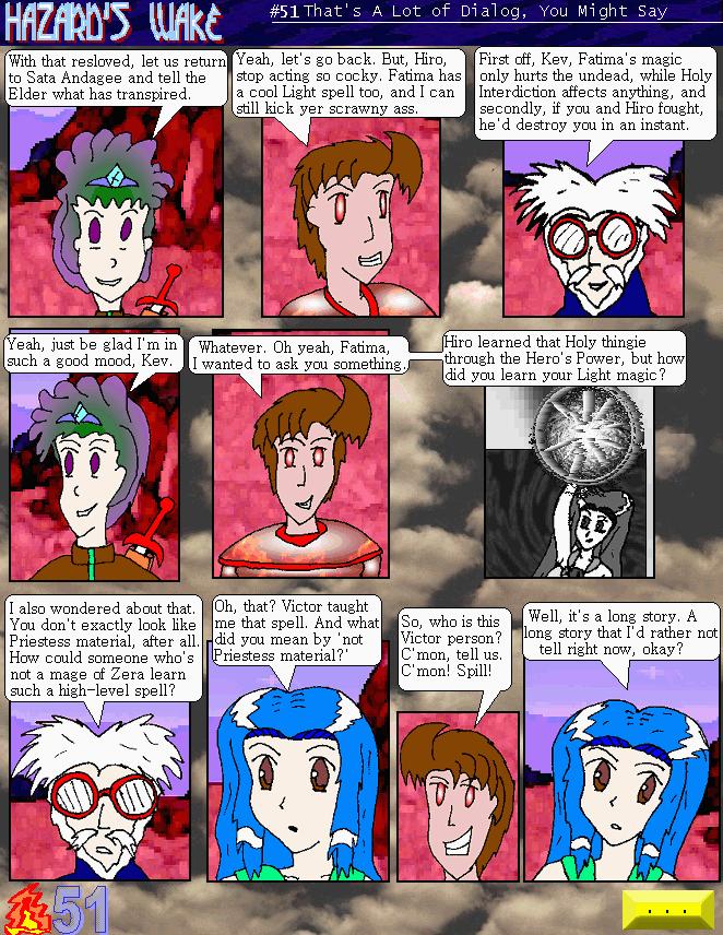 A Lot Of Dialog