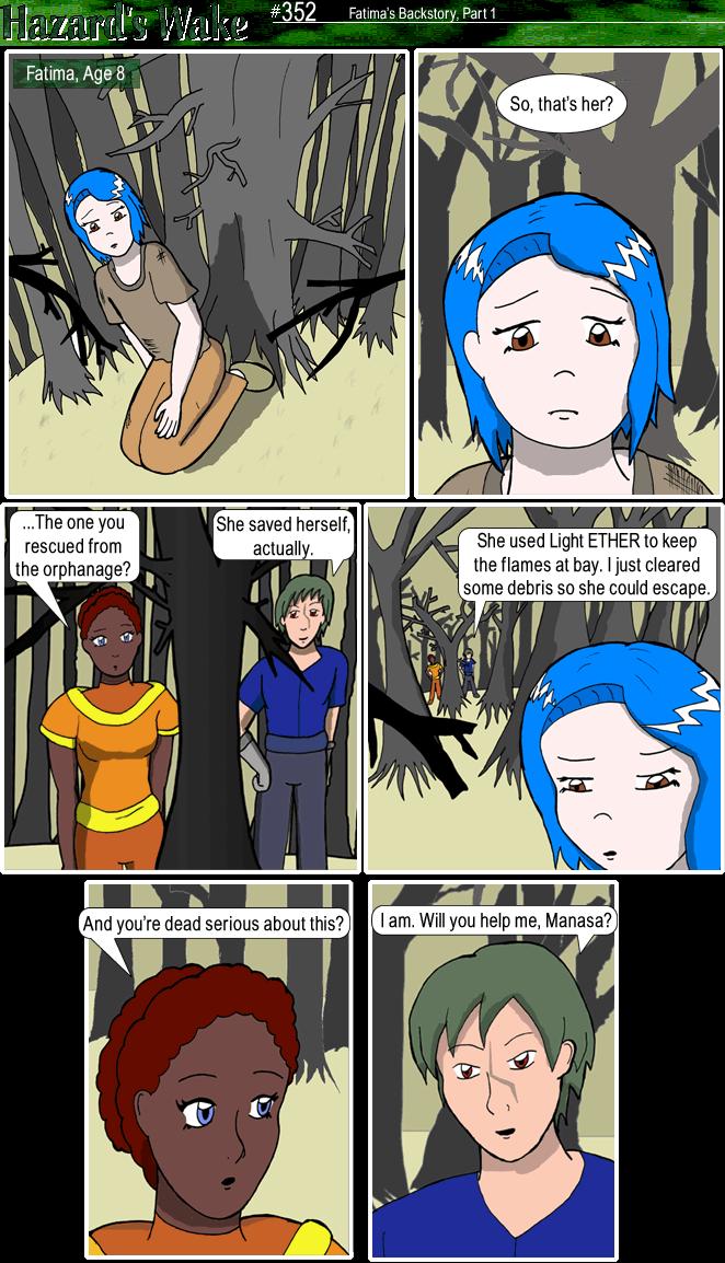 Fatima's Backstory, Part One