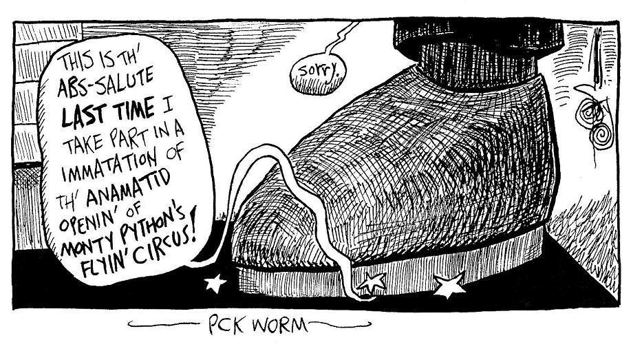 PCK Worm Sick Tin