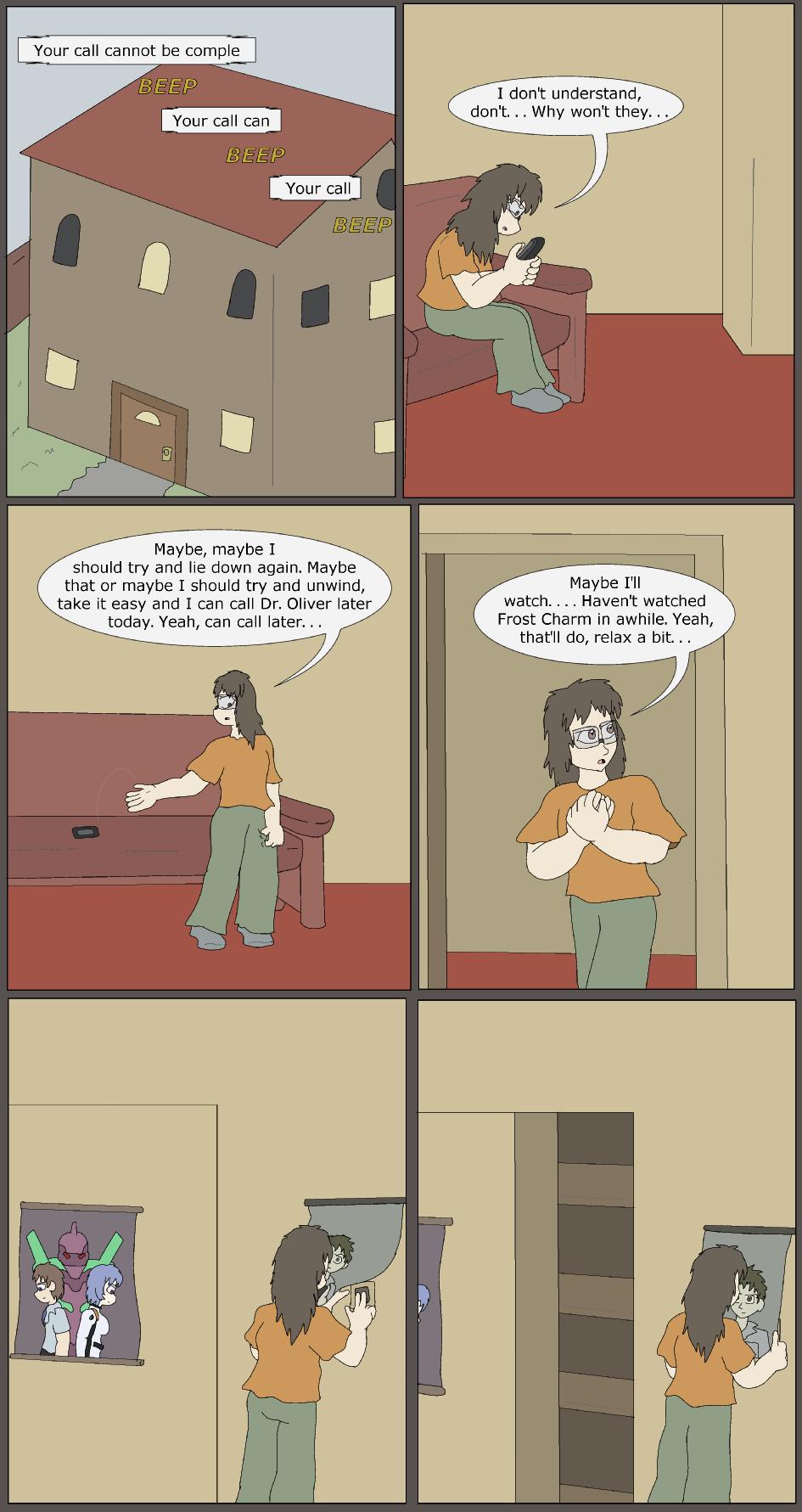 Quiet, Page 1
