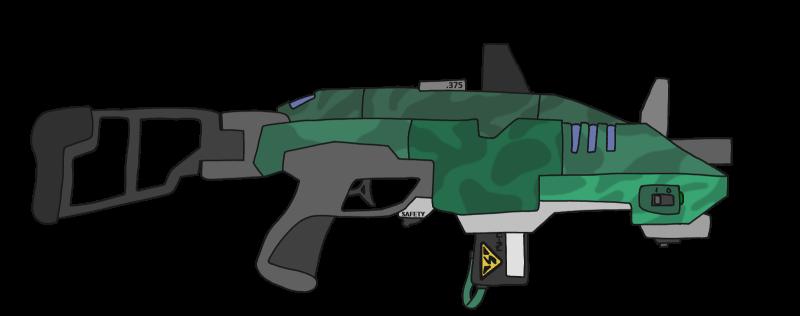 Tyrrel & Sanders TC120 coilgun rifle