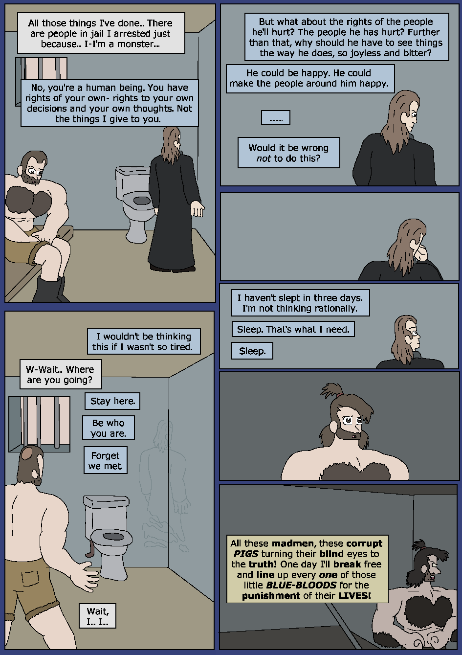 Darker Blue, Page 25