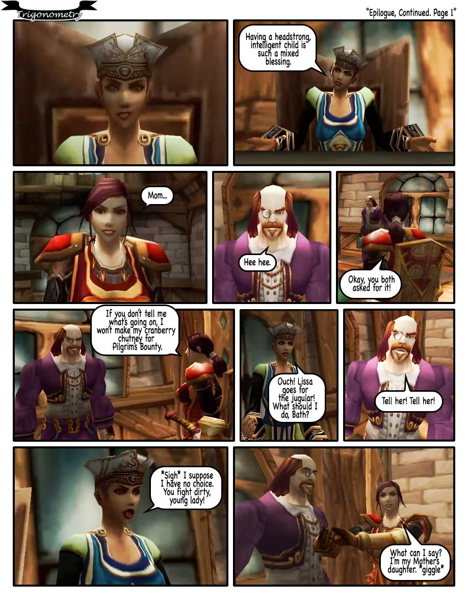 Epilogue, Continued. Page 1