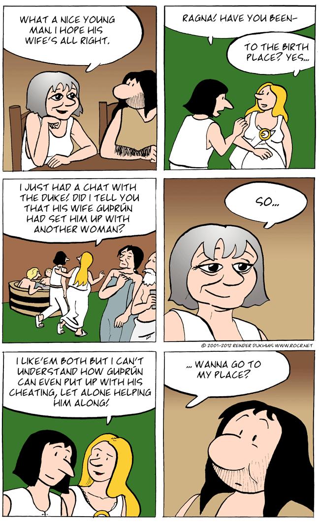 Ethelfried summons her courage