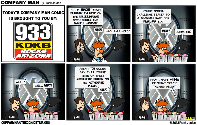 On a special Company Man Comic! 11/22/13