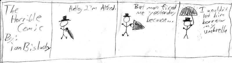 Comic 1: Umbrella