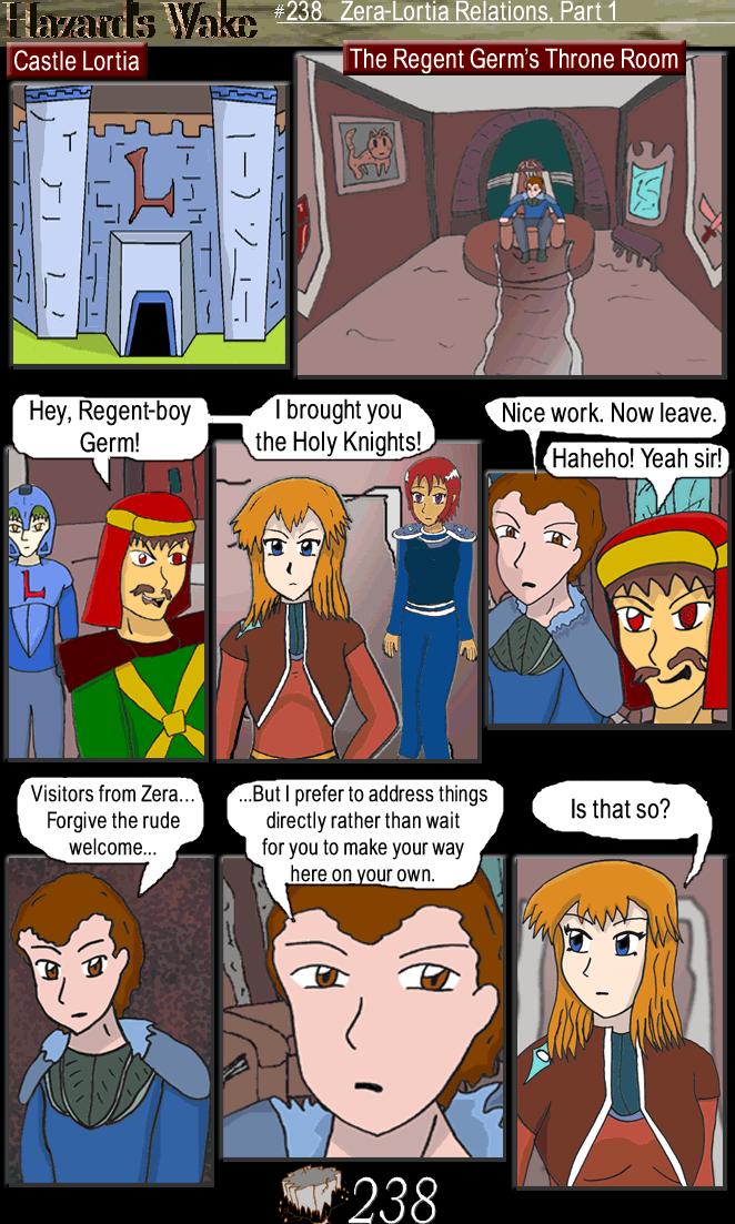 Zera-Lortia Relations, Part One