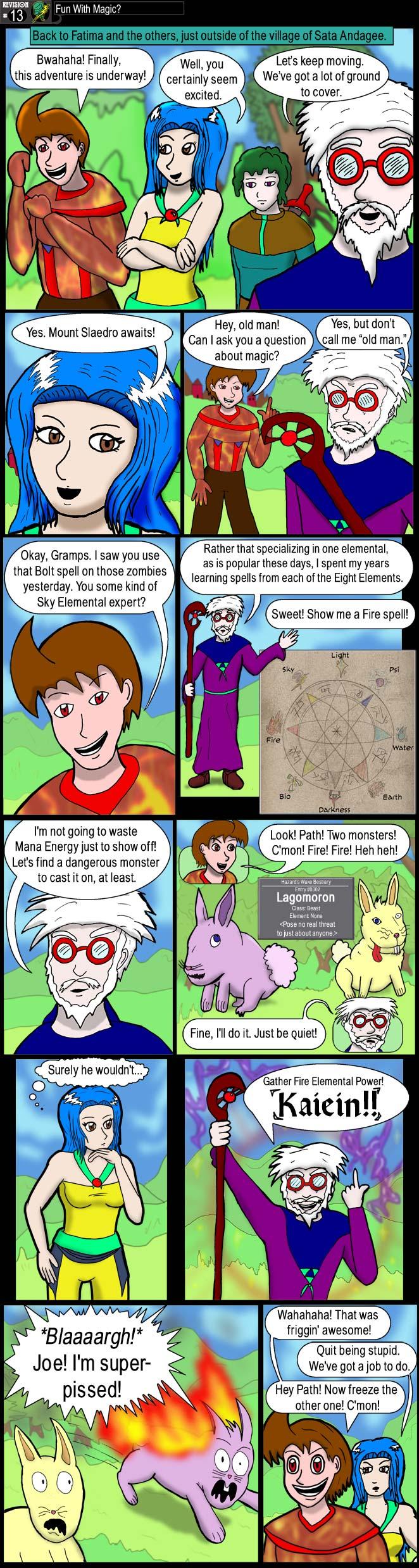 Fun with Magic?
