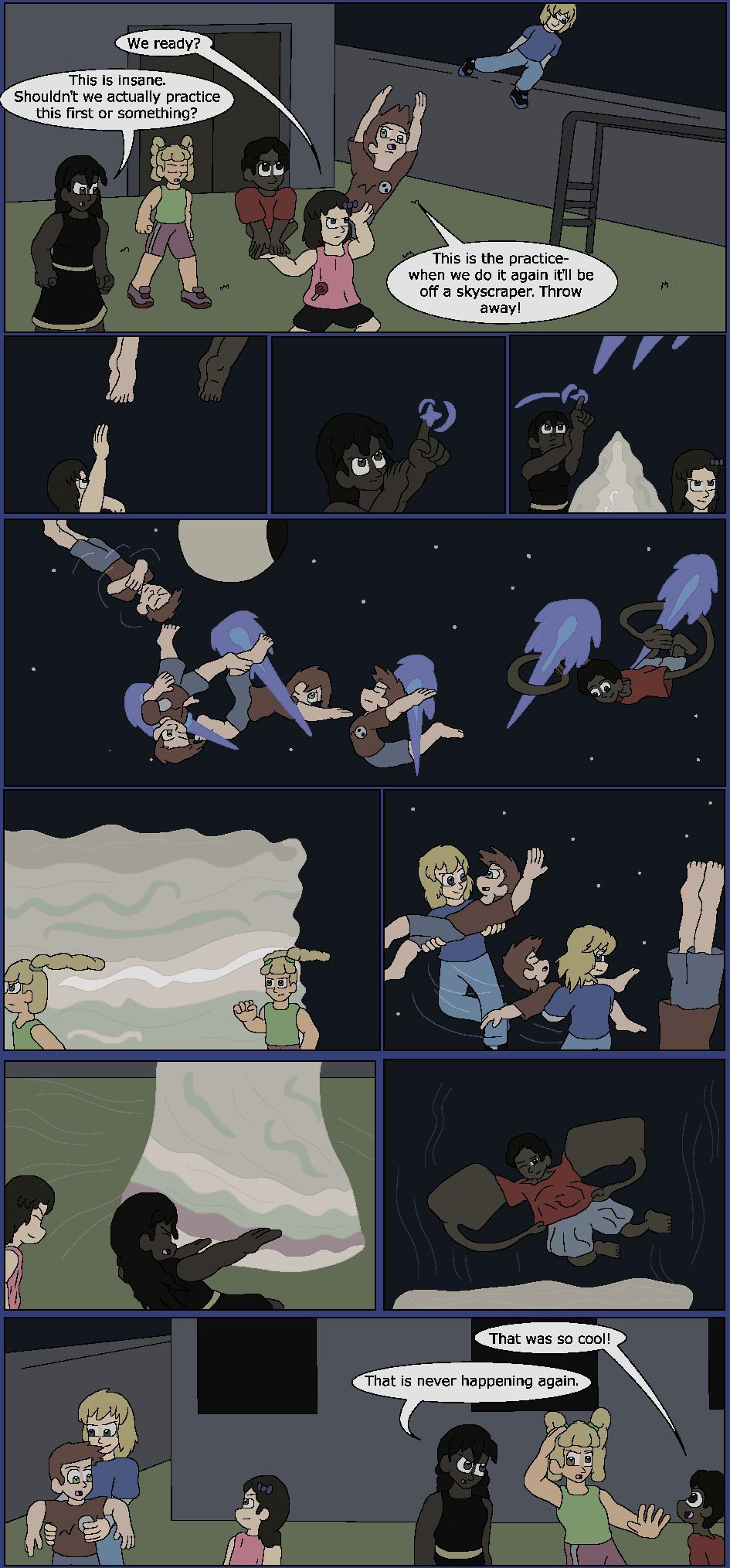 Filler: Blue Maneuvers