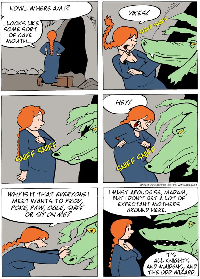 Big ol' dragon