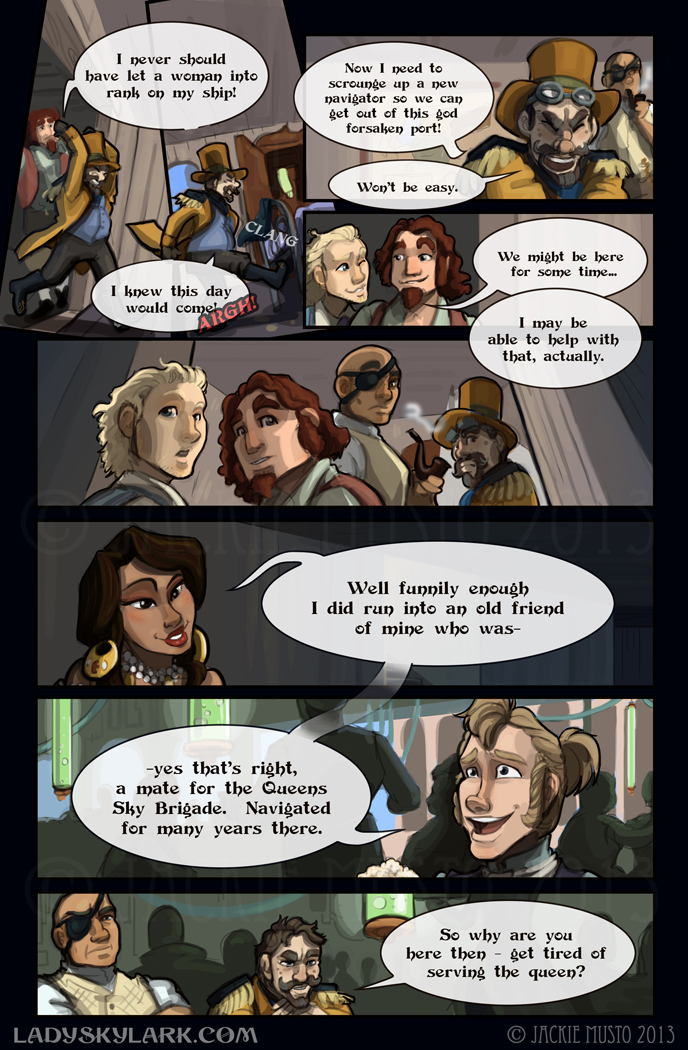 Lady Skylark and the Queen's Treasure - Page 83