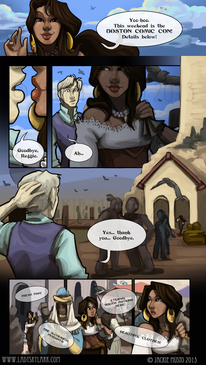Lady Skylark and the Queen's Treasure - Page 70