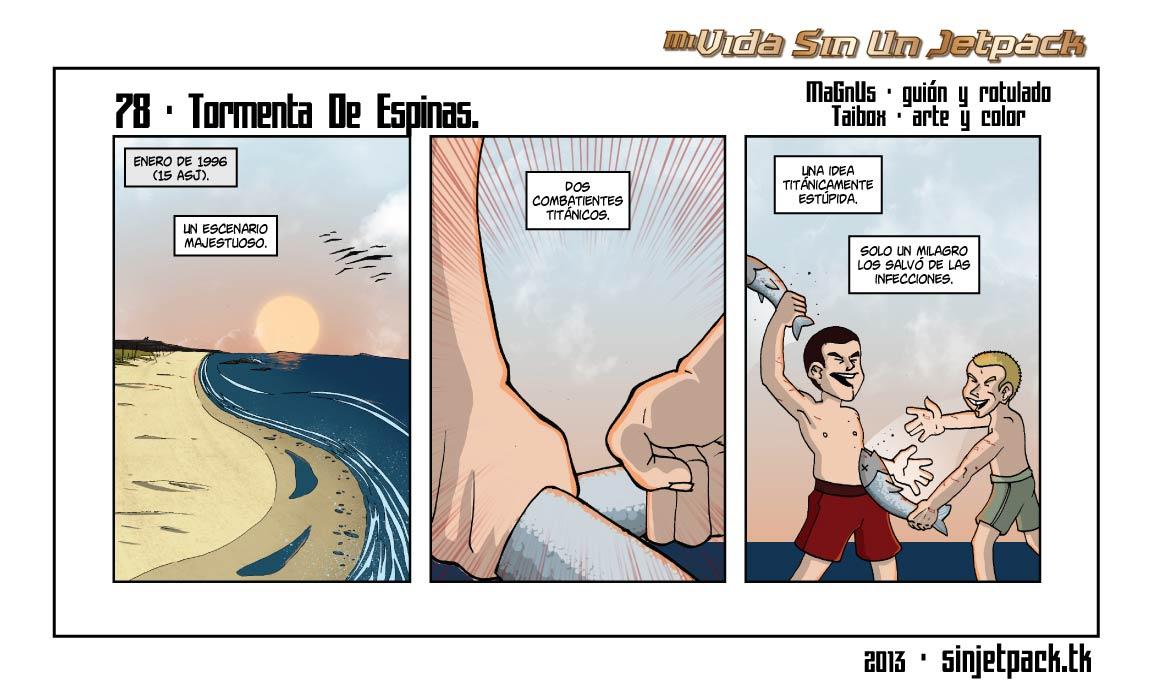 78 - Tormenta De Espinas.