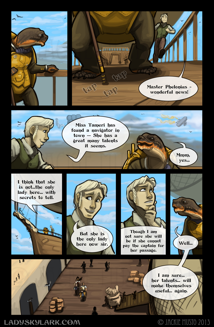 Lady Skylark and the Queen's Treasure - Page 85
