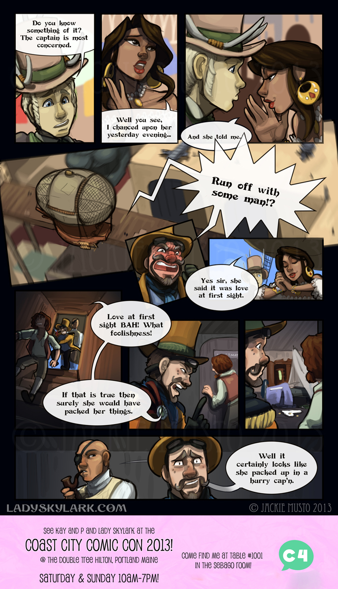 Lady Skylark and the Queen's Treasure - Page 82