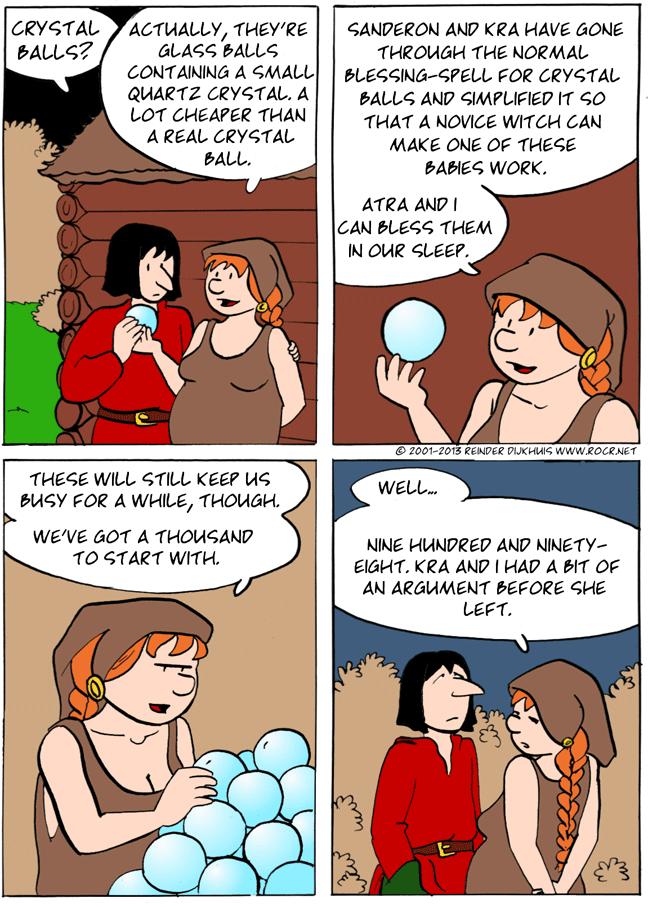 Quartz is a crystal...
