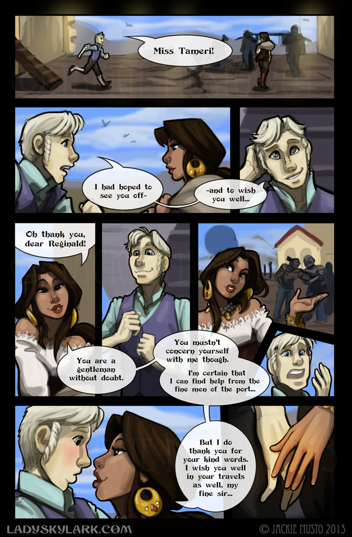 Lady Skylark and the Queen's Treasure - Page 69