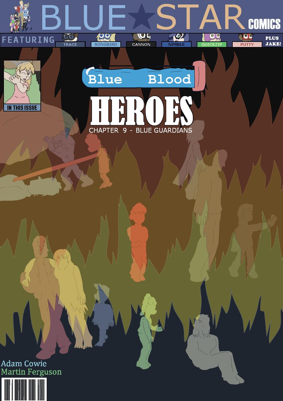 Blue Guardians, Cover
