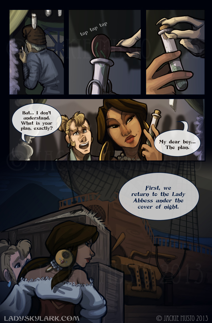Lady Skylark and the Queen's Treasure - Page 77