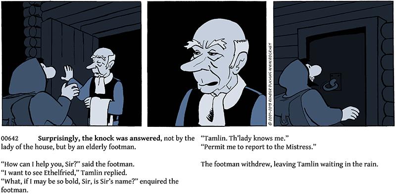 The Footman's Cold Shoulder