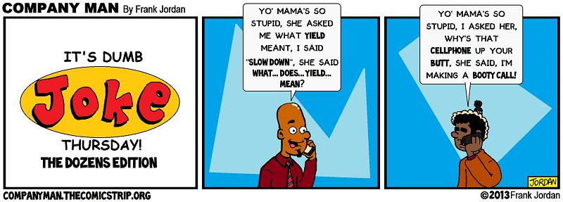 Dumb Joke Thursday: The Dozens Edition! 12/12/13