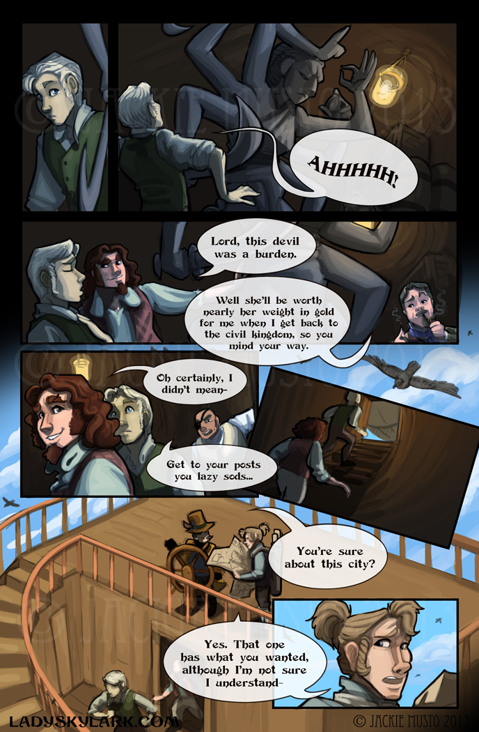 Lady Skylark and the Queen's Treasure - Page 88