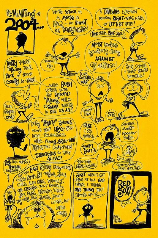Minicomic Back Cover, Issue #2