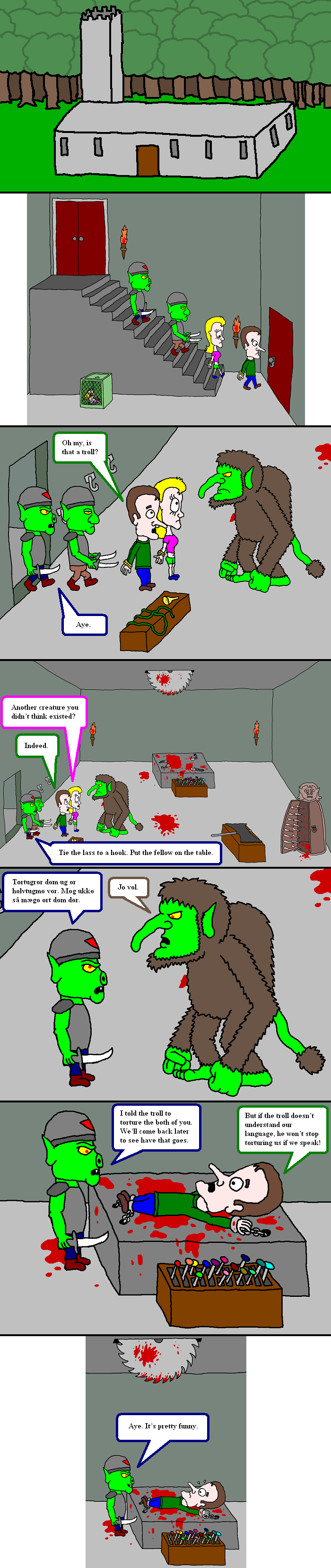 Troll and torture