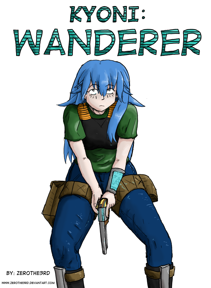 Kyoni:Wanderer Cover