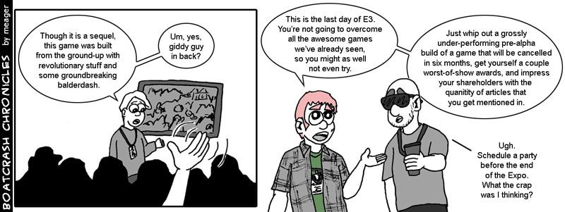 E3 2011 Not-So-Bonus Day