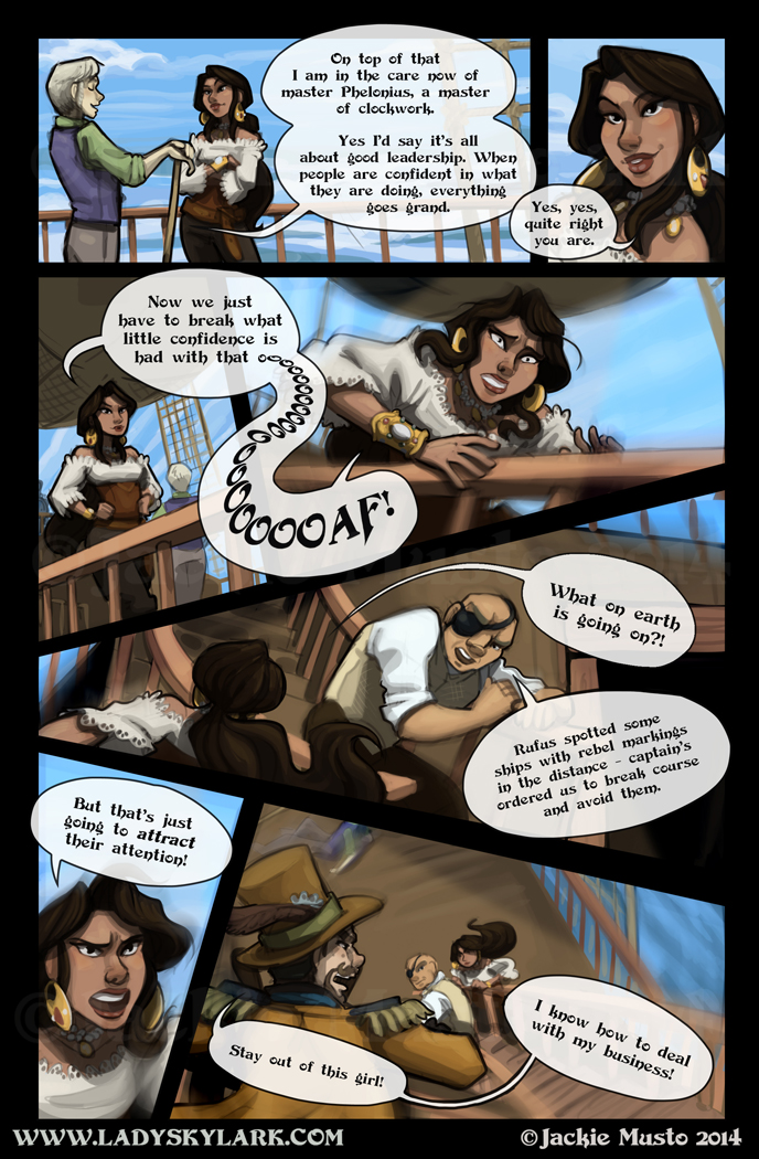 Lady Skylark and the Queen's Treasure - Page 93
