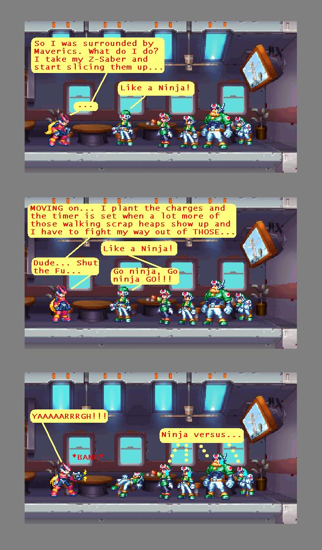 0046 - Ninja Versus