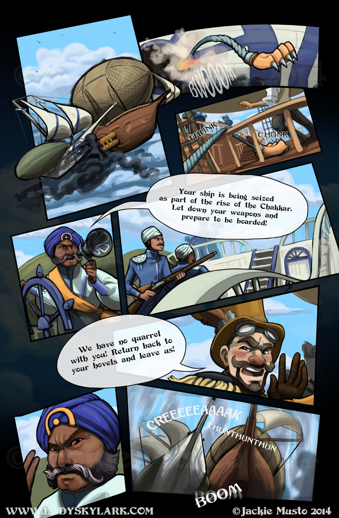 Lady Skylark and the Queen's Treasure - Page 95