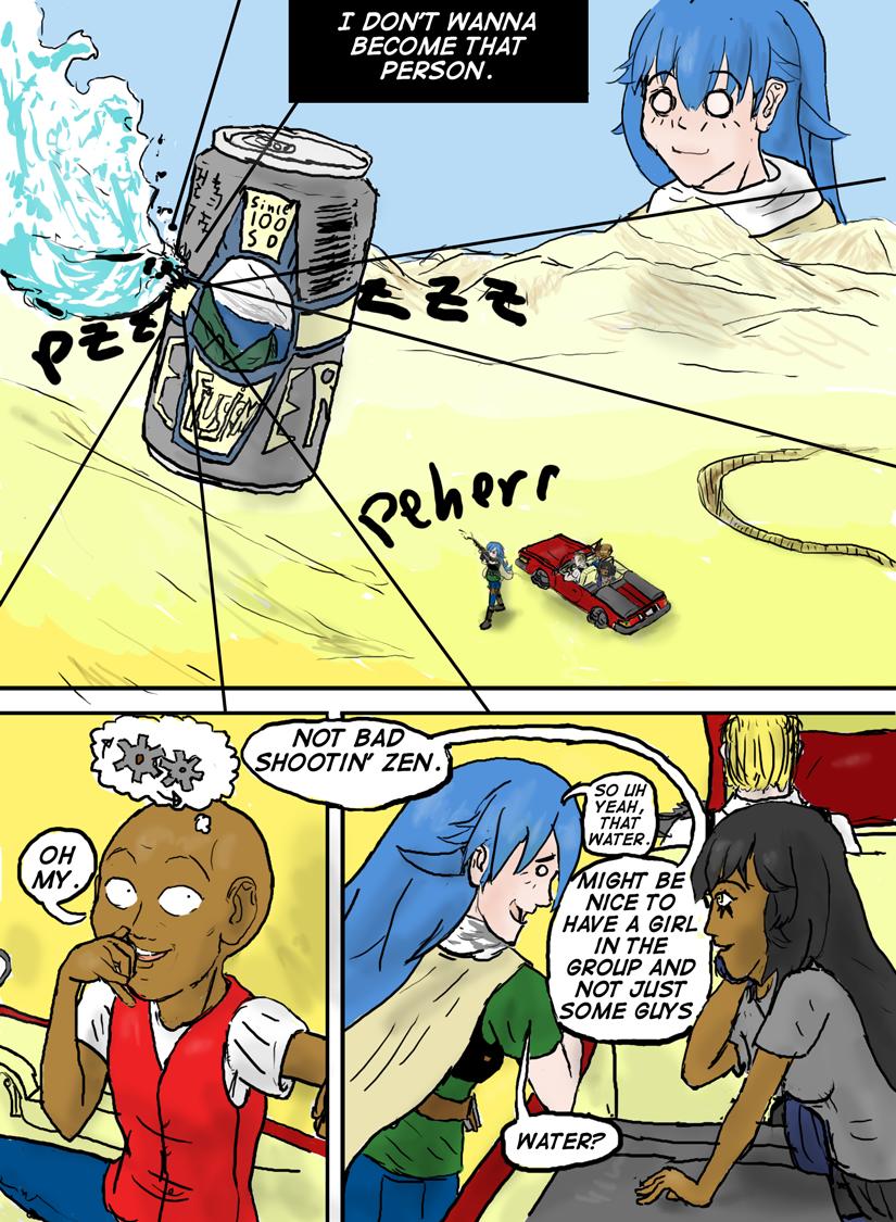Kyoni:Wanderer Page 8