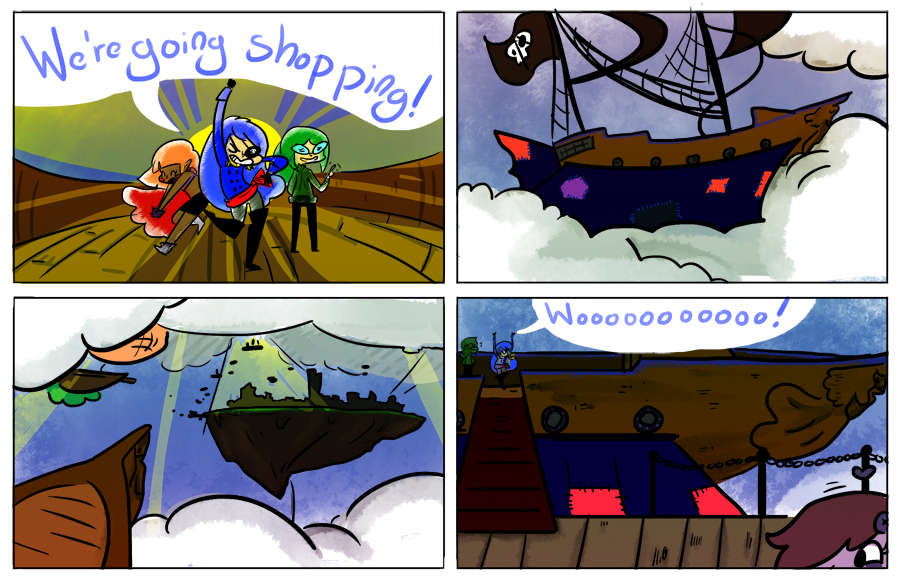 1:GET IN THE SHIP, WE'RE GOING SHOPPING!
