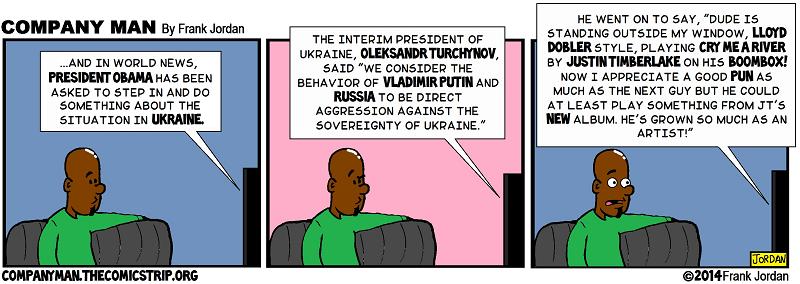 Trouble in Crimea! 3/3/14