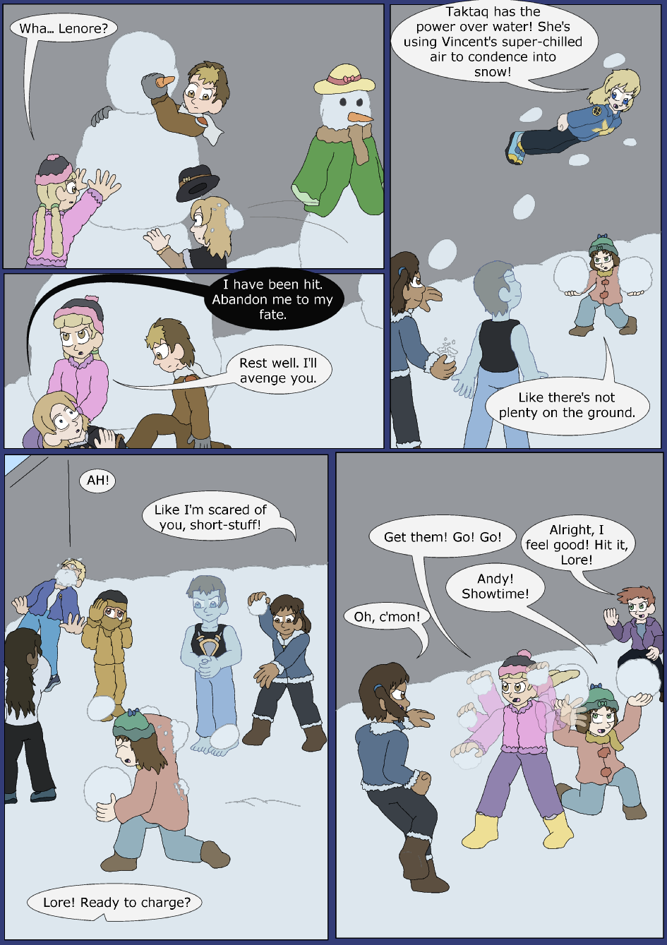 Icy Blue, Page 12