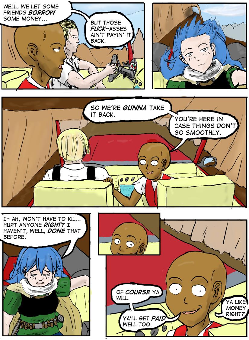 Kyoni:Wanderer Page 12