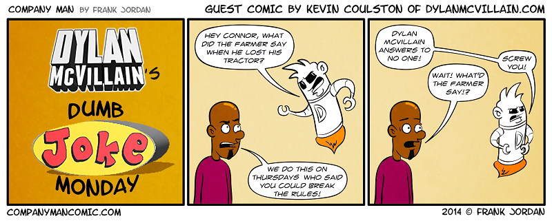 Guest strip week: Kevin Coulston! 3/31/14