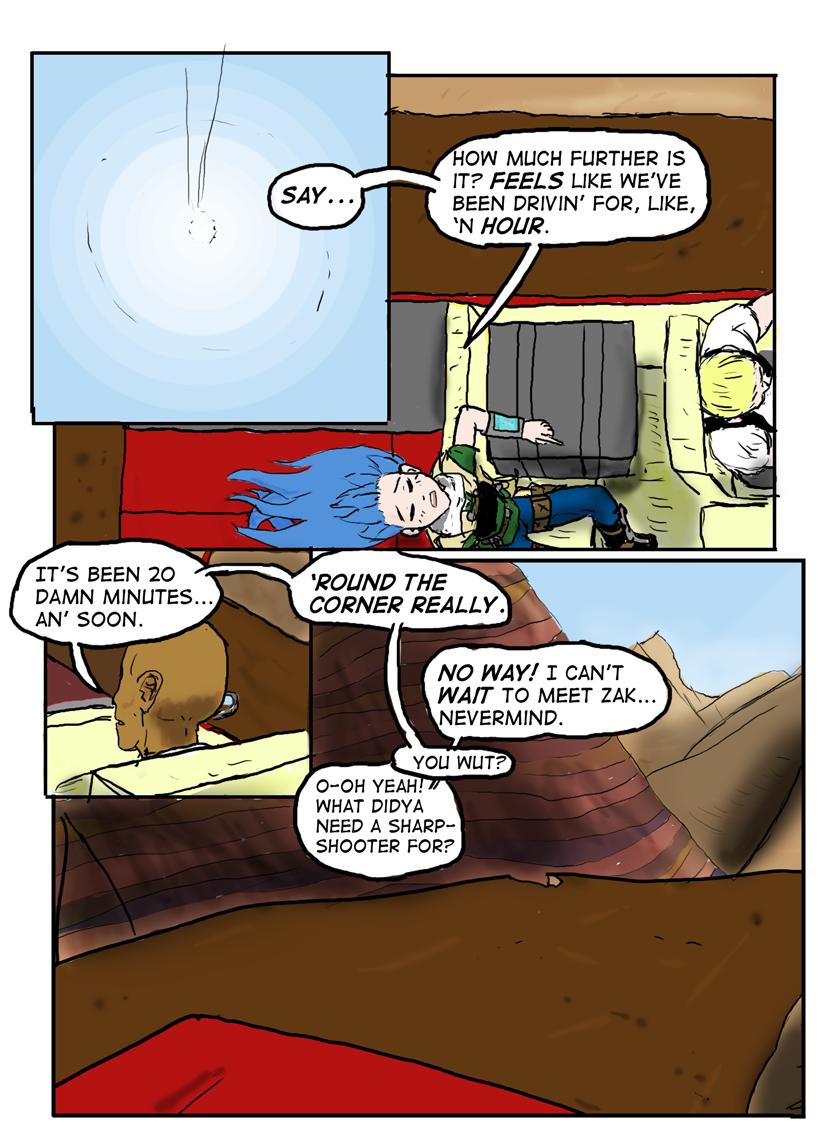Kyoni:Wanderer Page 11