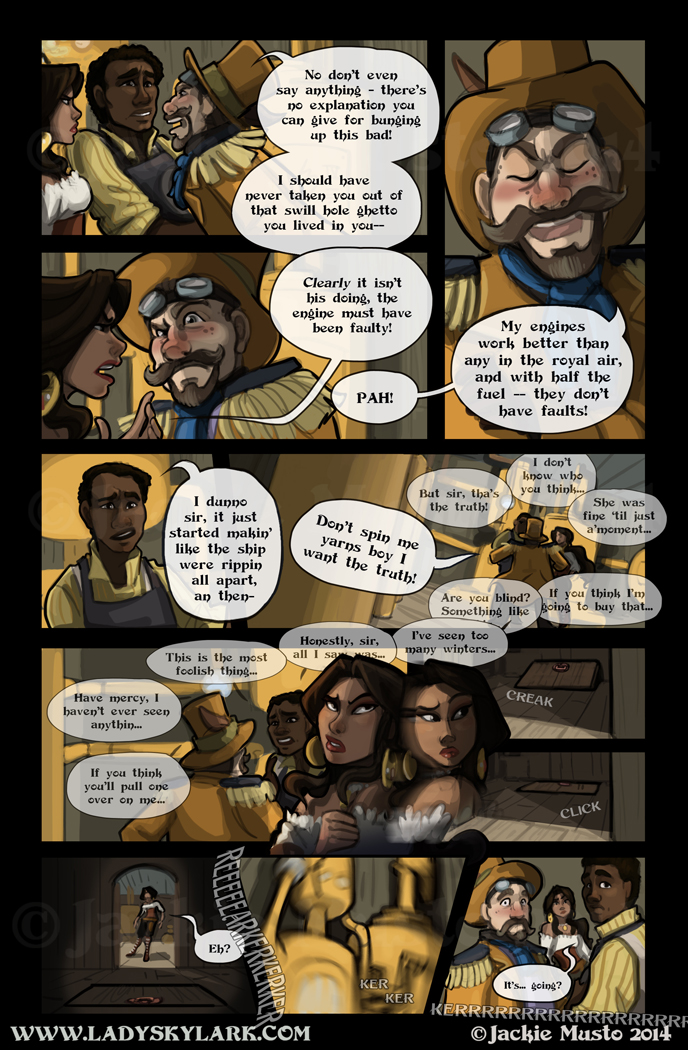 Lady Skylark and the Queen's Treasure - Page 101
