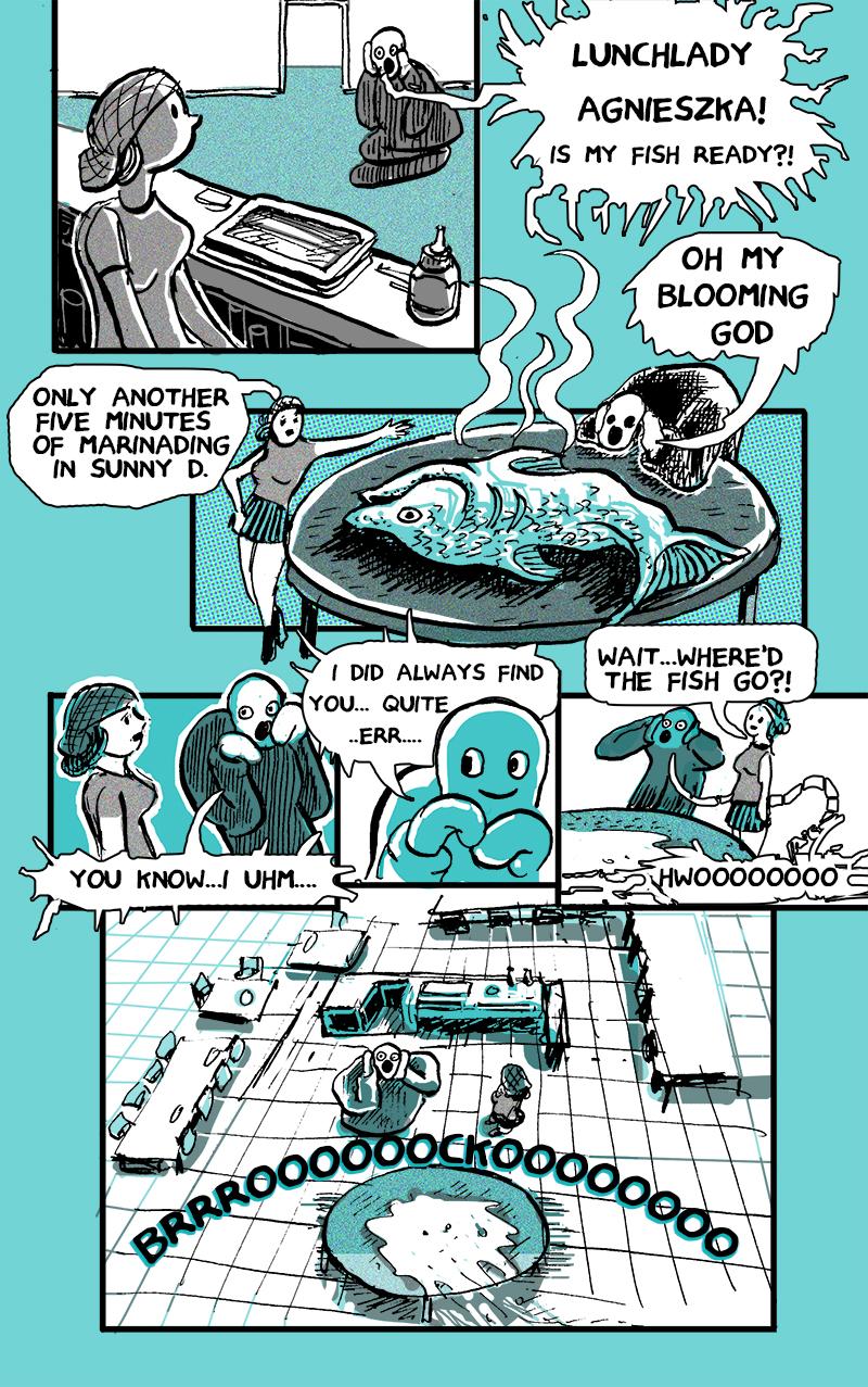 Brocko 'n Frens, page 8