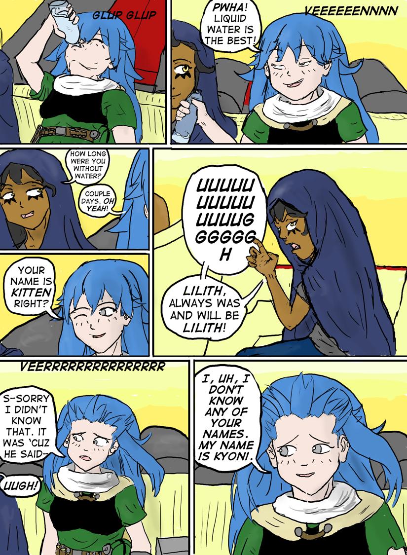 Kyoni:Wanderer Page 9