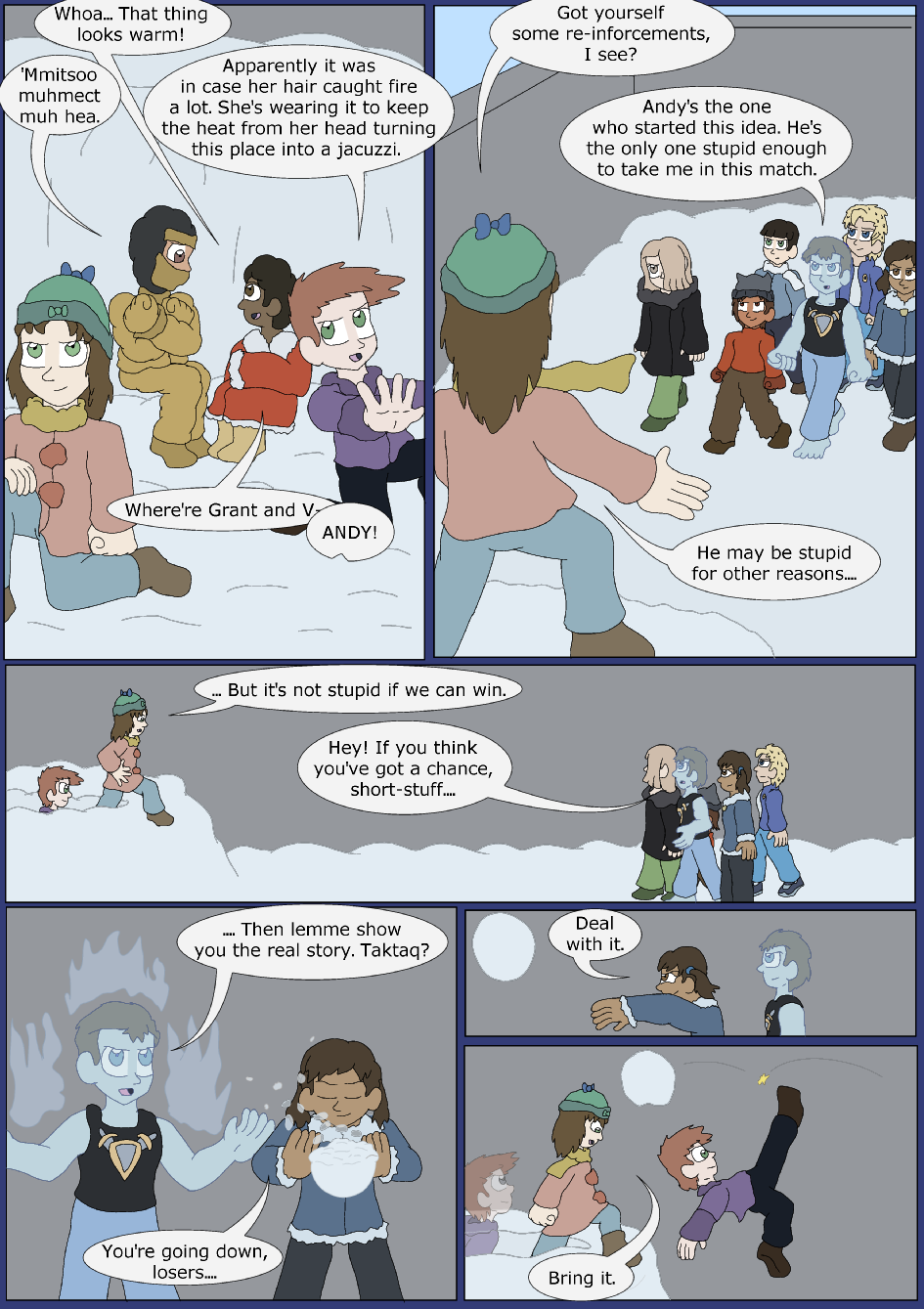 Icy Blue, Page 9