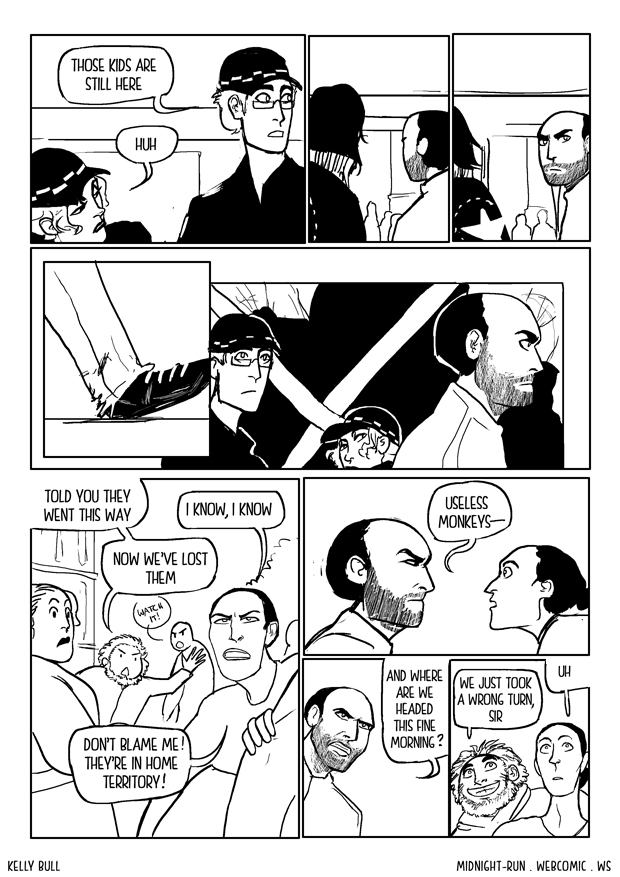 007: Wrong turn