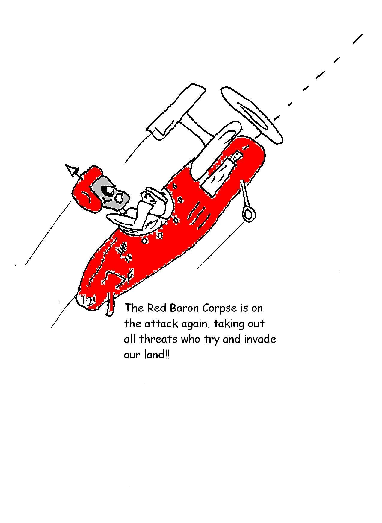 corpse high flyer