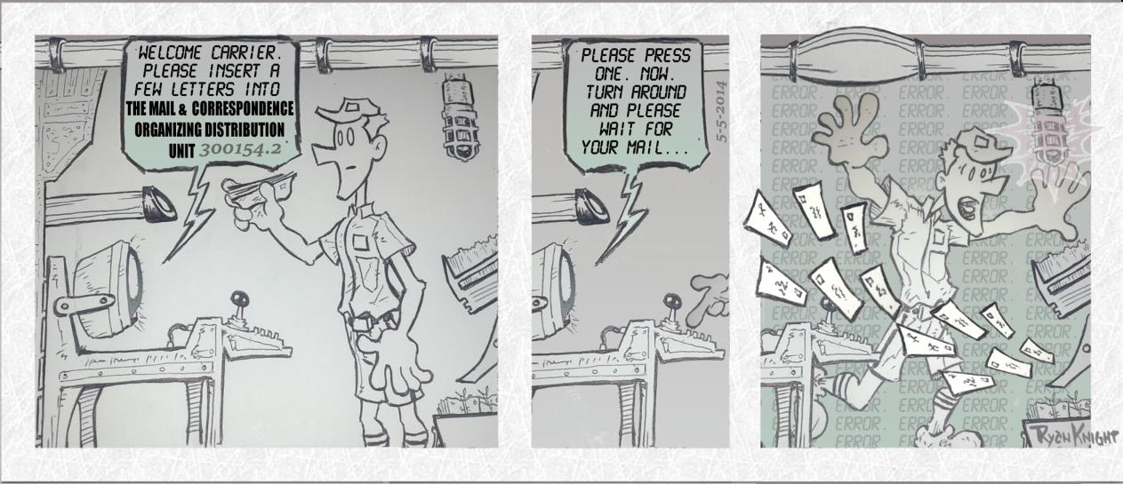 Mailman Misfortunes 5-5-2014