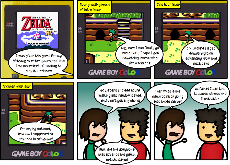 The Endless Legend of Zelda